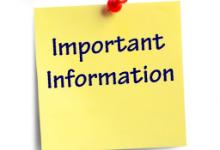 Parent Letter & FAQ Information