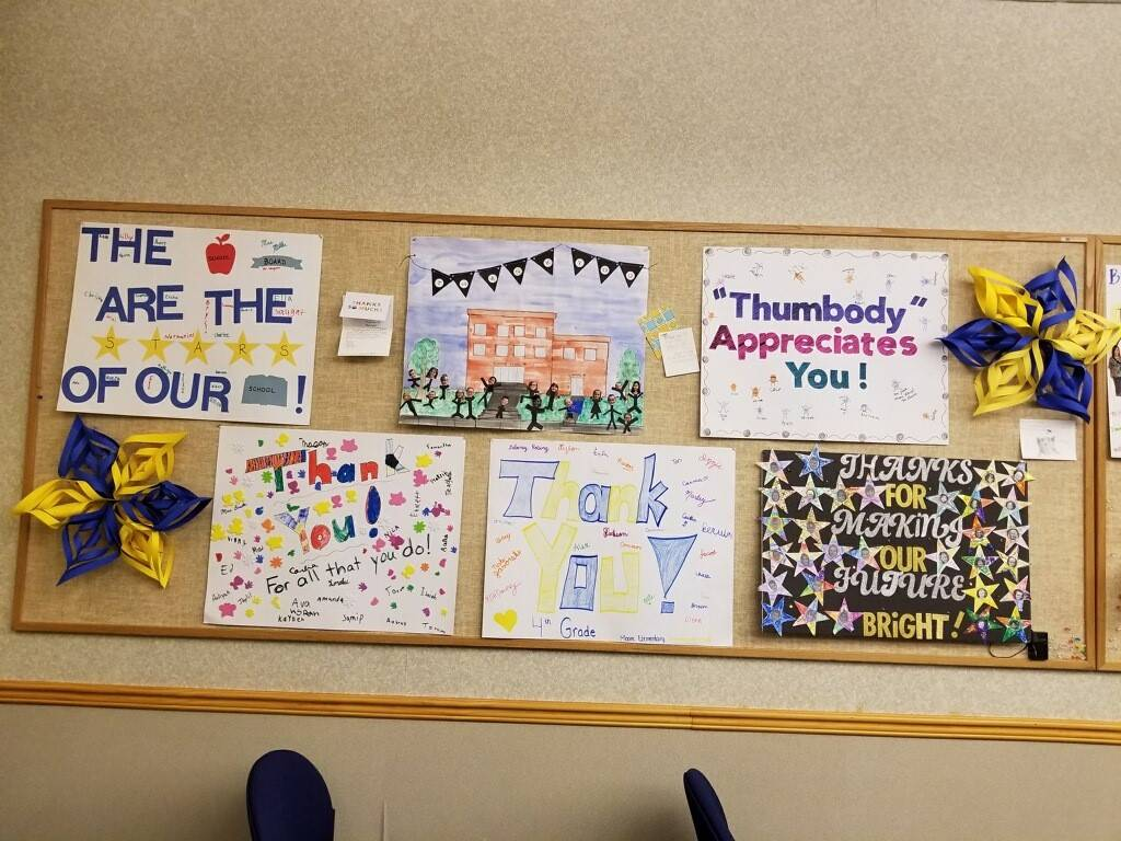 Board appreciation posters