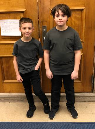 Twin Day at Elroy!