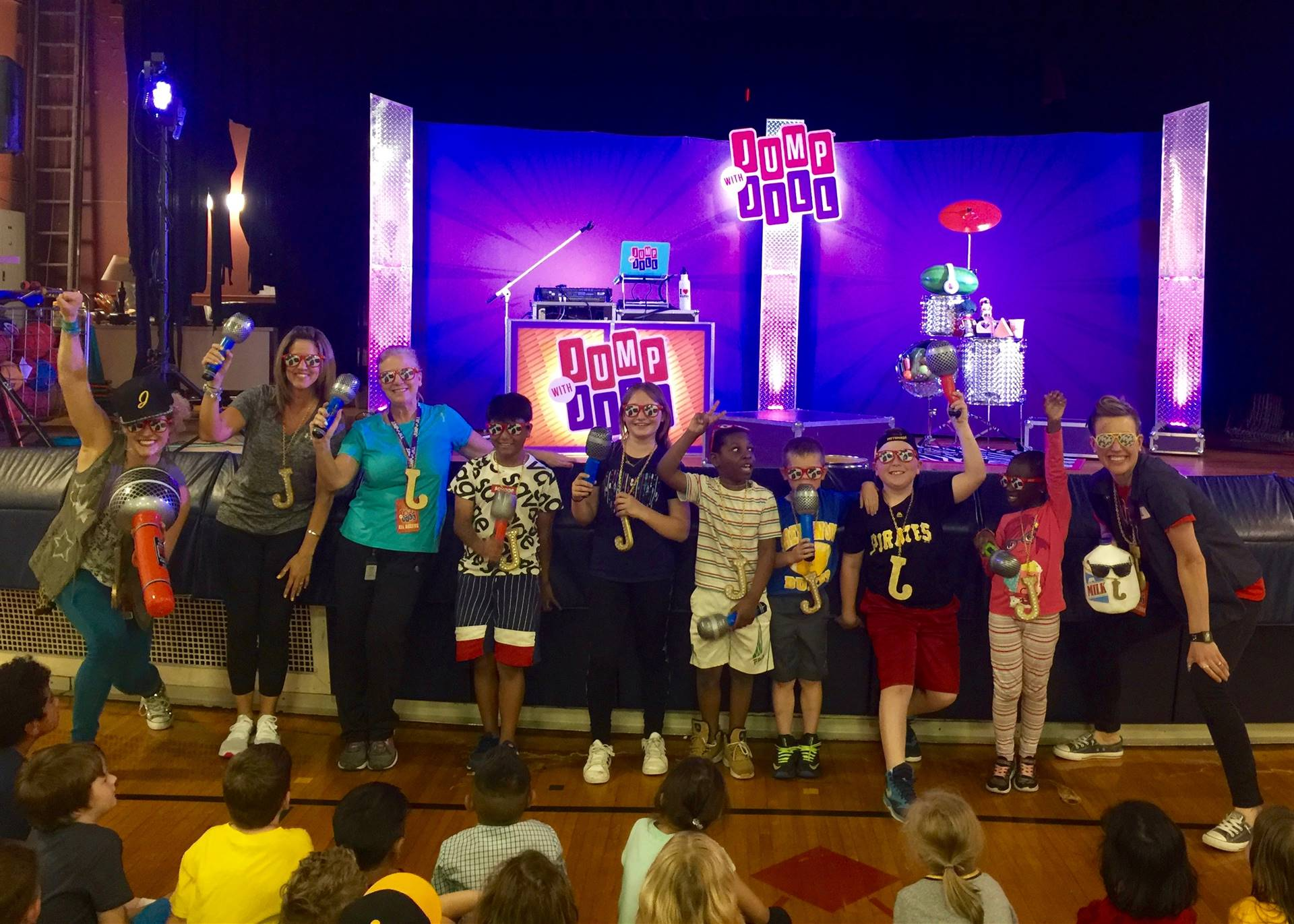 Elroy Elementary students Jump with Jill