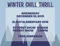 Elroy Winter Concert